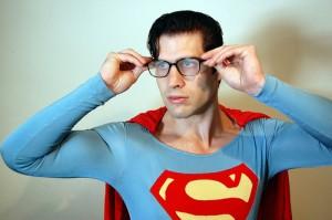 Clark Kent Becomes Superman