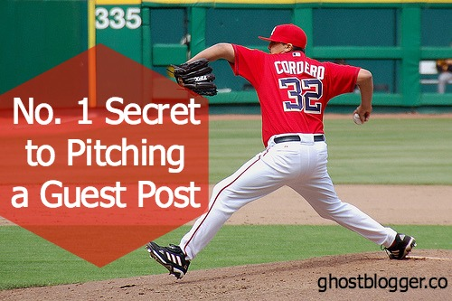 The number 1 secret of pitching a guest post. ghostblogger.co