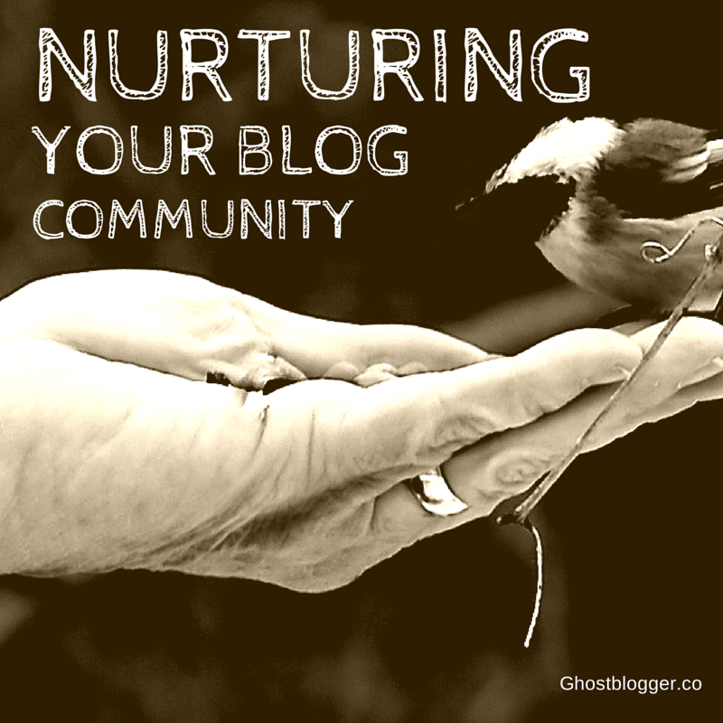 nurturing your blog community