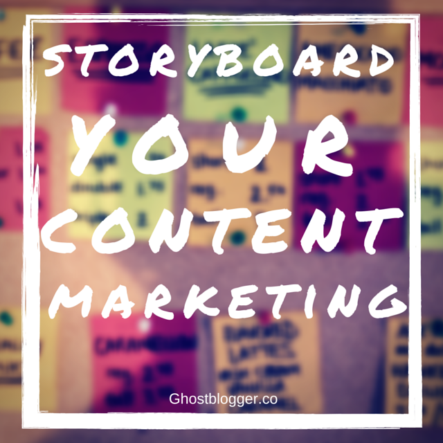 storyboard your content marketing
