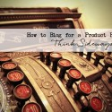 How to Blog for a Product Business: Think Sideways