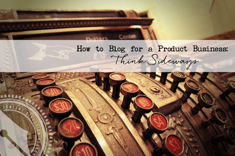 How to blog for a product business