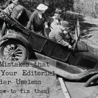 5 Mistakes That Make Your Editorial Calendar Useless (and How to Fix Them)