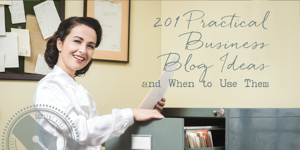 201 Business Blog Ideas