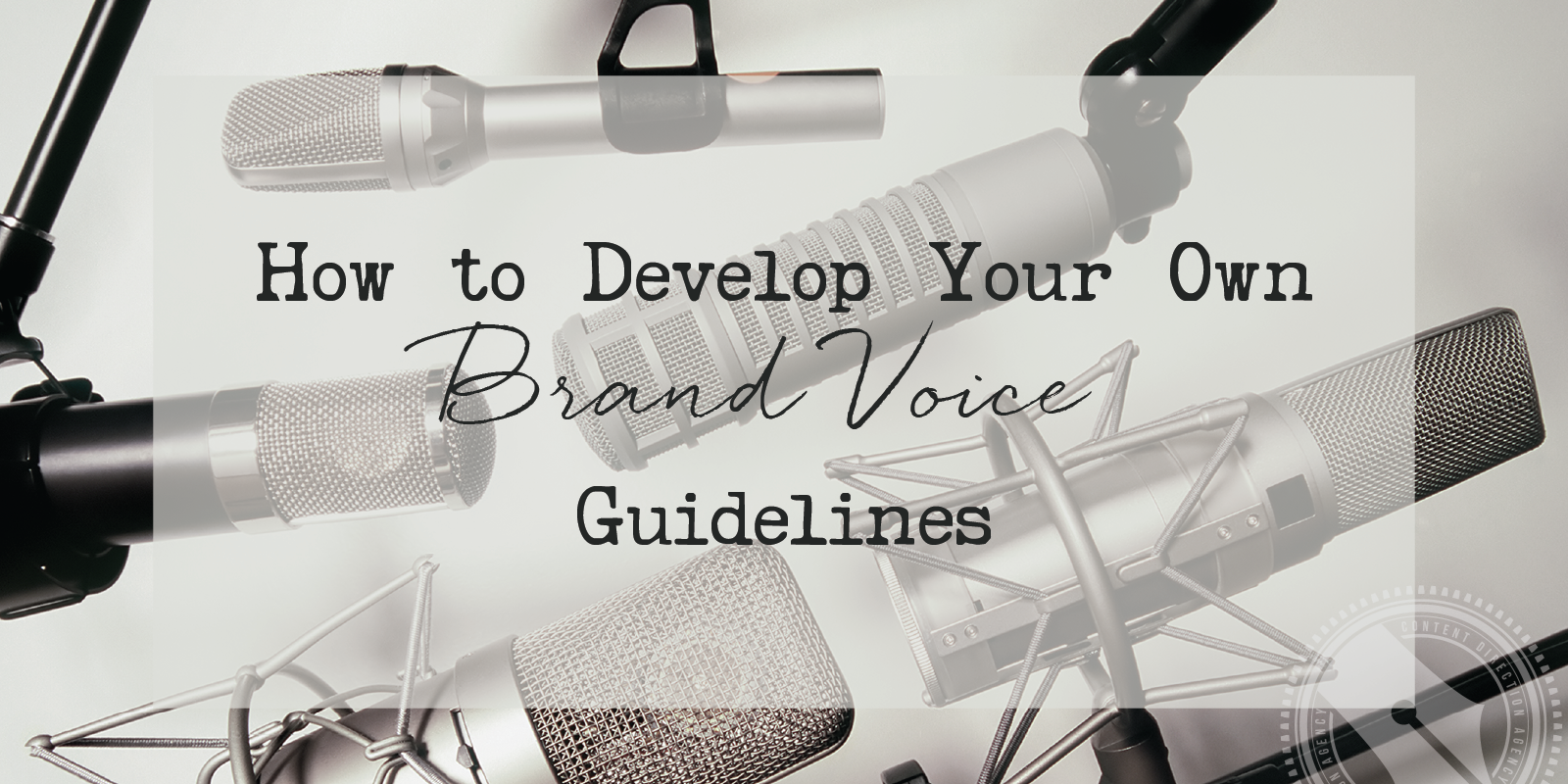 how to develop your brand voice guidelines