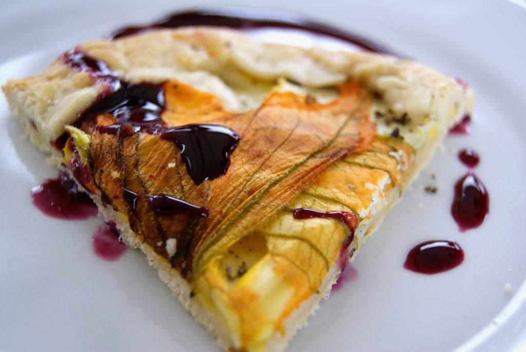 squash blossom pie